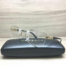 69a46723fc9 Versace Mod 1230-B 1230 B Eyeglasses Gold Black 1002 Authentic 54mm