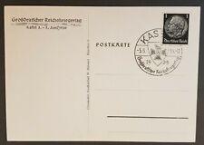 More details for german empire 3rd reich original postcard warrior day 1939 very rare