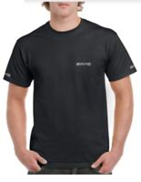 AMG Mercedes Benz Style T-Shirt Black, White or Grey - Front, Back and Arm logo