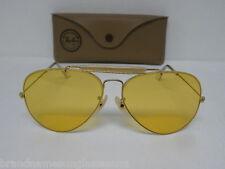 New Vintage B&L Ray Ban 1980's Outdoorsman II Arista Ambermatic 62mm L0093 NOS