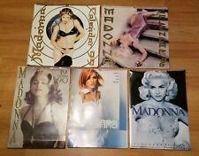 (5) 1990 1995 1996 1999 2000 Madonna Calendars