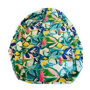 Gorman Bean bag Neighbours Garden L Cover No Beans Blue Green Floral Cushion