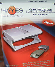 Hayes #81791 Quik Mounting Sleeve Receiver for Various Digital Brake Controllers