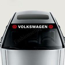Reflective VW Front Windshield Decal Vinyl Car Stickers for VOLKSWAGEN Window De