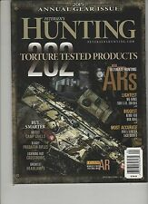 PETERSEN'S HUNTING MAGAZINE 2015 ANNUAL GEAR ISSUE.