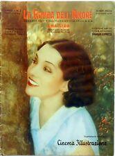 CINEMA ILLUSTRAZIONE N.2 1932 HOLLYWOOD RUMBA AMORE SHANGAI EXPRESS TIBBETT