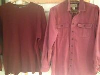 Men's Large Tall L.L. Bean Thermal And Flannel