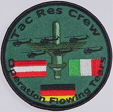 Patch Aufnäher KFOR Operation Flowing Tears ...........A2893K