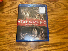 JEEPERS CREEPERS 1 & 2 DOUBLE FEATURE BLU-RAY  SHOUT FACTORY BRAND NEW SEALED