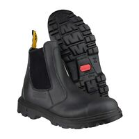 Amblers FS129 Black Slip-On Safety Dealer Work Boot |UK 6-12|