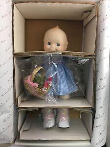"""Jesco Kewpie Doll Mint in Original Box  12"""" Porcelain Baby Doll Danbury Mint"""