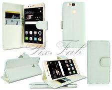 Fundas y carcasas Huawei color principal blanco de piel para teléfonos móviles y PDAs