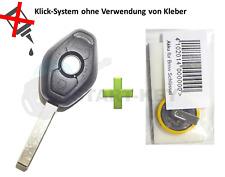 BMW Schlüssel Gehäuse Akku E83 E46 E52 E53 E85 E60 E61 E63 E65 E64 E66 E67 Rohli
