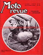 MOTO REVUE 1445 BENELLI 50 Sport SACHS 100/3 ; Trophés DUNLOP BP MONTLHERY 1959