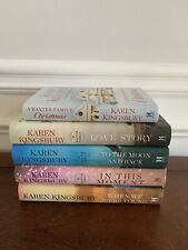 Lot of 5 ~ HARDCOVER Books ~ KAREN KINGSBURY ~ BAXTER Series ~ Very Good Cond!