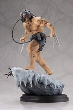 Kotobukiya Collection Marvel Universe: Weapon X Fine Art Statue 450/700 Dmg Box