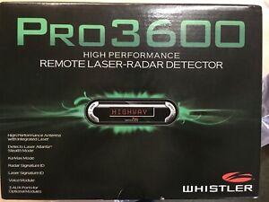 Whistler Pro-3600