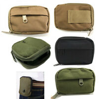 Mini Military Molle Waist Pack Coin Purse EDC Utility Pouch Belt MP3 Bag Wallet