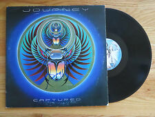 Keyboardist GREGG ROLIE of JOURNEY signed CAPTURED 1981 Record / Album COA