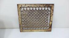 Antique Cast Iron Grate Floor Vent Register Air Return  Art Deco