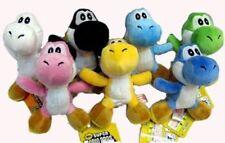 "Japanese Anime Super Mario 3"" Yoshi Plush a Set of 3 Pieces Randomly Picked"