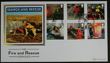 Fire and Rescue services  Benham first day cover