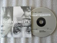 CD-JULIET ROBERTS-BAD GIRLS-DAN'S ANTHEM/RADIO EDIT-SUDANO(CD SINGLE)1998-2TRACK