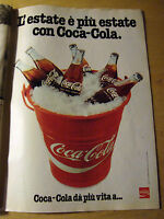PUBBLICITA' ADVERTISING WERBUNG 1980 COCA-COLA (BMV)