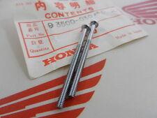 HONDA CB 500 T 2x screw PAN CROSS 3x45 lens tail light genuine new