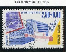 STAMP / TIMBRE FRANCE OBLITERE N° 2688 METIER LE TRI POSTAL