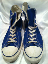 BLUE HIGH TOP CANVAS VINTAGE ALL STAR CONVERSE CHUCK TAYLOR