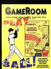GameRoom Magazine Coin-Op Baseball Jukebox October  2000