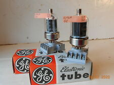 2 GENERAL ELECTRIC  6146A VACUUM TUBES TV7 TESTED