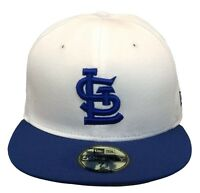 New Era Saint Louis Cardinals 59FIFTY Fitted Cap (White/Blue)