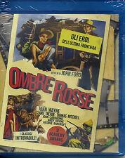 OMBRE ROSSE  1939 di John Ford CON JOHN WAYNE - BLU-RAY  NUOVO