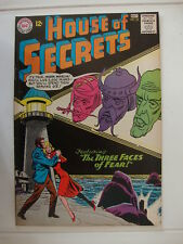 House Of Secrets #62 VG Three Faces Of Fear