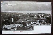 Cartolina viaggiata 1907 CREVA - LUINO Lago Maggiore