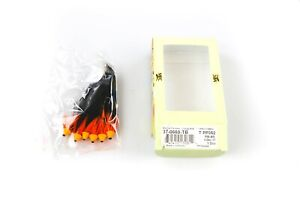 MFC Berry's The Hoax Orange TB Tube Fly Lot of 6