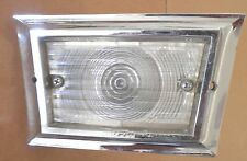 1958 58 FORD USED WORKING BACK UP LIGHT ASSEMBLY w/ LENS. FOMOCO FET-15515-B-4.