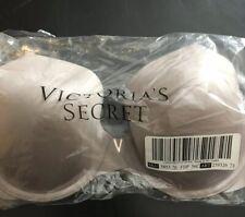 Victoria Secret Bra- 36C - Grey - Lined Demi - NEW - Smooth - Sexy