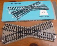 Marklin 5114 19.2cm crossing Boxed