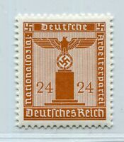 GERMANY 3rd REICH S20 RARE MICHEL 163Y VERTICAL GUM PERFECT MNH EXP SCHLEGEL BPP