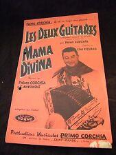 Partition Les deux guitares Primo Corchia Mama Divina Music Sheet