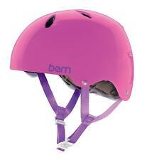 Bern Diabla EPS Cycling Helmet (Translucent Pink / Girls / Medium Size)