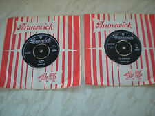 2 1960's Singles By BRENDA LEE - All Alone Am I & As Usual- Both In V.G.C.