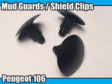 20x Clips For Peugeot 106 20mm Mud Guard Shield Trim XS XSi GTi QUIKSILVER