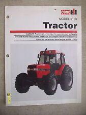 Original Vintage International Harvester Case IH Model 5130 Tractor Flyer
