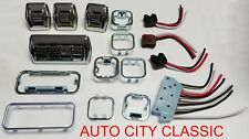 Power Window Switches 1955 - 57 GM Full Size Chev Buick Cad Olds Pont Set