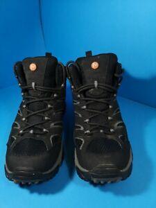 Merrell Moab 2 Mid GTX Mens Walking Boots Black /Grey size uk 8.5 eur 43 used