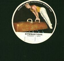 Etiquette de Fromage Intercalaire Fromagerie Bel  Gymnastique   N° 117